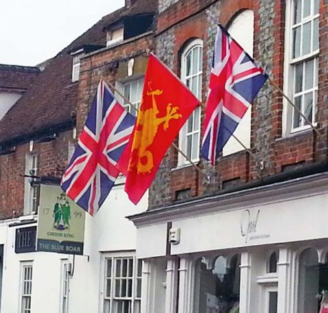 town flags