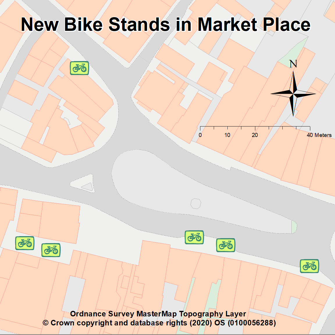New Bike Stands in Wantage