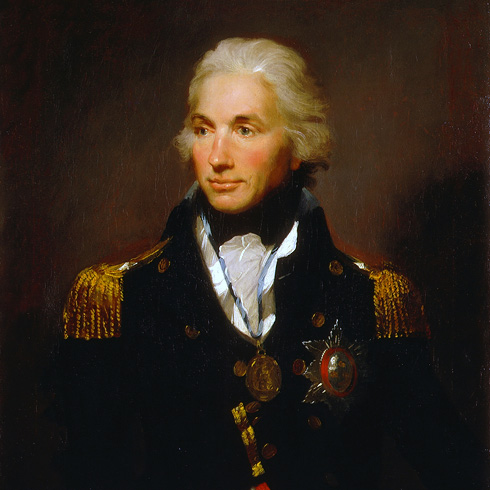 Portrait of Rear-Admiral Sir Horatio Nelson, 1758-1805