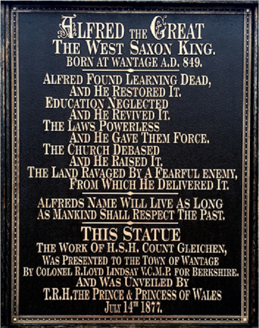 King Alfred the Great Words