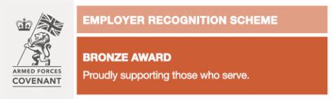 Employer Recognition Scheme - Bronze Award